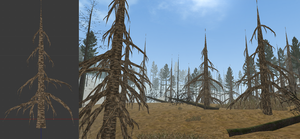 FREE to download Leafless Pine! by WulfTheWolf