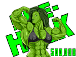 She-Hulk 500k by MATL
