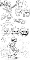 Halloween Speshul Jack o Lantern TF by Fighting-Wolf-Fist