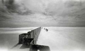 Cape Hatteras Jetty by rdungan1918