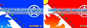 (Sonic vs Darkness TNR) Official Title Cards by Kainoso