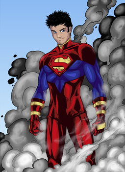 Superboy by windriderx23 by UltimeciaFFB