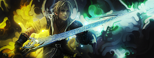 Tidus Smudge Tag (Final Fantasy X) by NigglezNGigglez