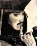 Captain Jack Sparrow by Nfahmed