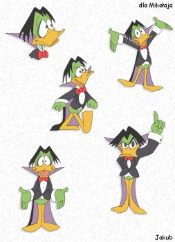 Count Duckula by JacobMainland