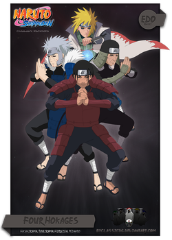 Four Hokages -Edo Tensei- by byClassicDG