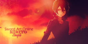 Sword Art Online: Kirito by MsSimple
