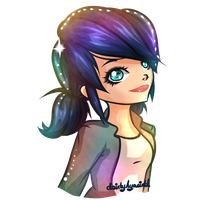 Marinette Dupain-Cheng by DaintyHyacinth