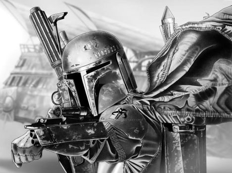 Boba Fett Final Art by corysmithart