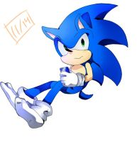 Sonic 01 by xao-chii