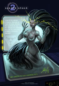 Shodan Fan Art 2013 by Axigan
