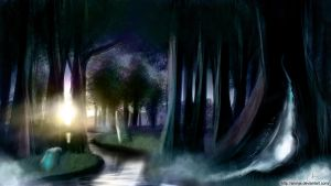 Mystical Forest by Aronja