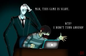 EC plays Slender by EC-DarkMatter