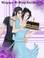ItaSasu: B-Day Cake by Jenova87