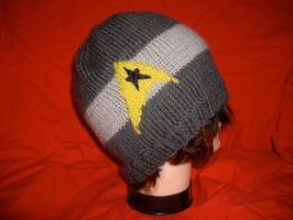 Grey Star Trek Command Toque by holls