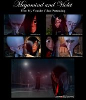 Pretending - Megamind and Violet by OohFire