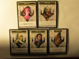 3D Planeswalker Emblems by Hurley-Burley-Alters