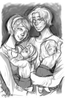 APH: Happy Family by thecarefree