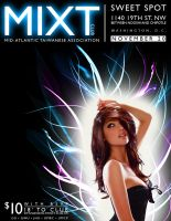 MIXT Club Night Poster by owei-yin
