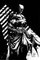 batman inks by john-galilea