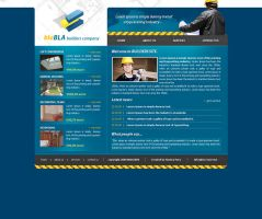 Builders template. by: Siostra by WebMagic