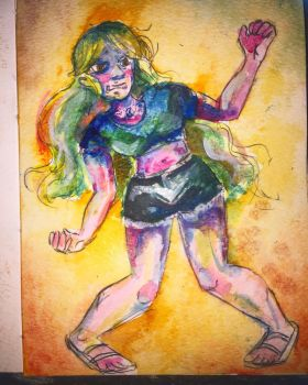 Confused Dancing  by Iridescent-Bismuth