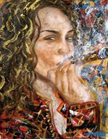 Tanya and her Montecristo by amoxes