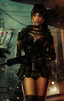 Soldier Babe 2020_CLOSE UP by tariq12