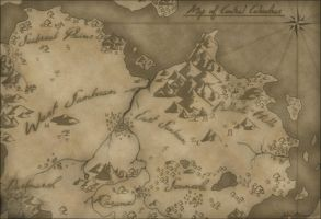 Map of Central Celendras by San-ru