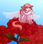 Rose Fairy by ColacatintheHat