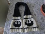 Rebel Alliance child scarf by LadyNespa