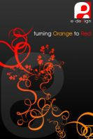 Turning Orange to RED by e-dexign