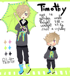 [OC] Timothy ref by Aixeron