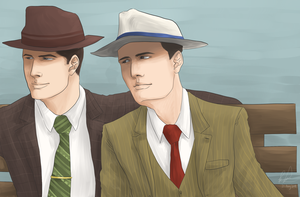 L.A. Noire - Free time by litesnake