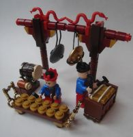LEGO Instruments III: Gamelan by Mister-oo7