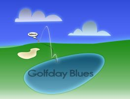 Golfday Blues by jellymann