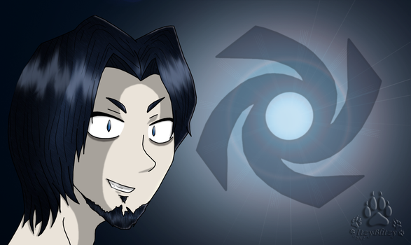 Black and White: The Cerulean God by ItzyBlitzy