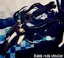 black rock shooter by Rekieel