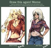 Before and After: Applejack by MoritoAkira
