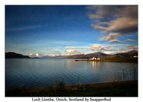 Loch Linnhe, Onich, Scotland by SnapperRod