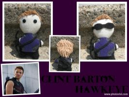 Assassin: Clint 'Hawkeye' Barton -The Plushies- by calceil