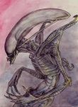 GIGER ALIEN by Anarchpeace