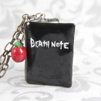 DeathNote locket by TrenoNights