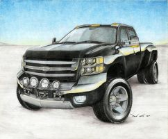 The Original Custom Silverado by SeawolfPaul