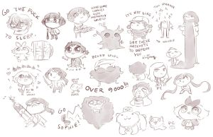 WoD : AND THEN THERE WERE CHEEBS by Siltae