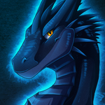 Icon Comish - Midnight Scales by TwilightSaint