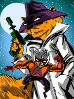 Secret Squirrel and Atom Ant by jaypiscopo