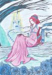 Coloring Contest:cut-glass castle by Flame-N-Roses