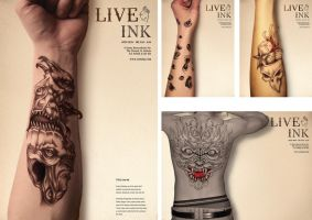 Tattoo shop promo by SDGRAPHICS
