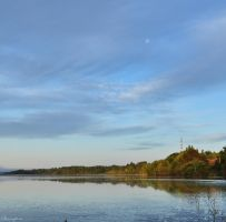 Under a Daylight Moon by Brian-B-Photography